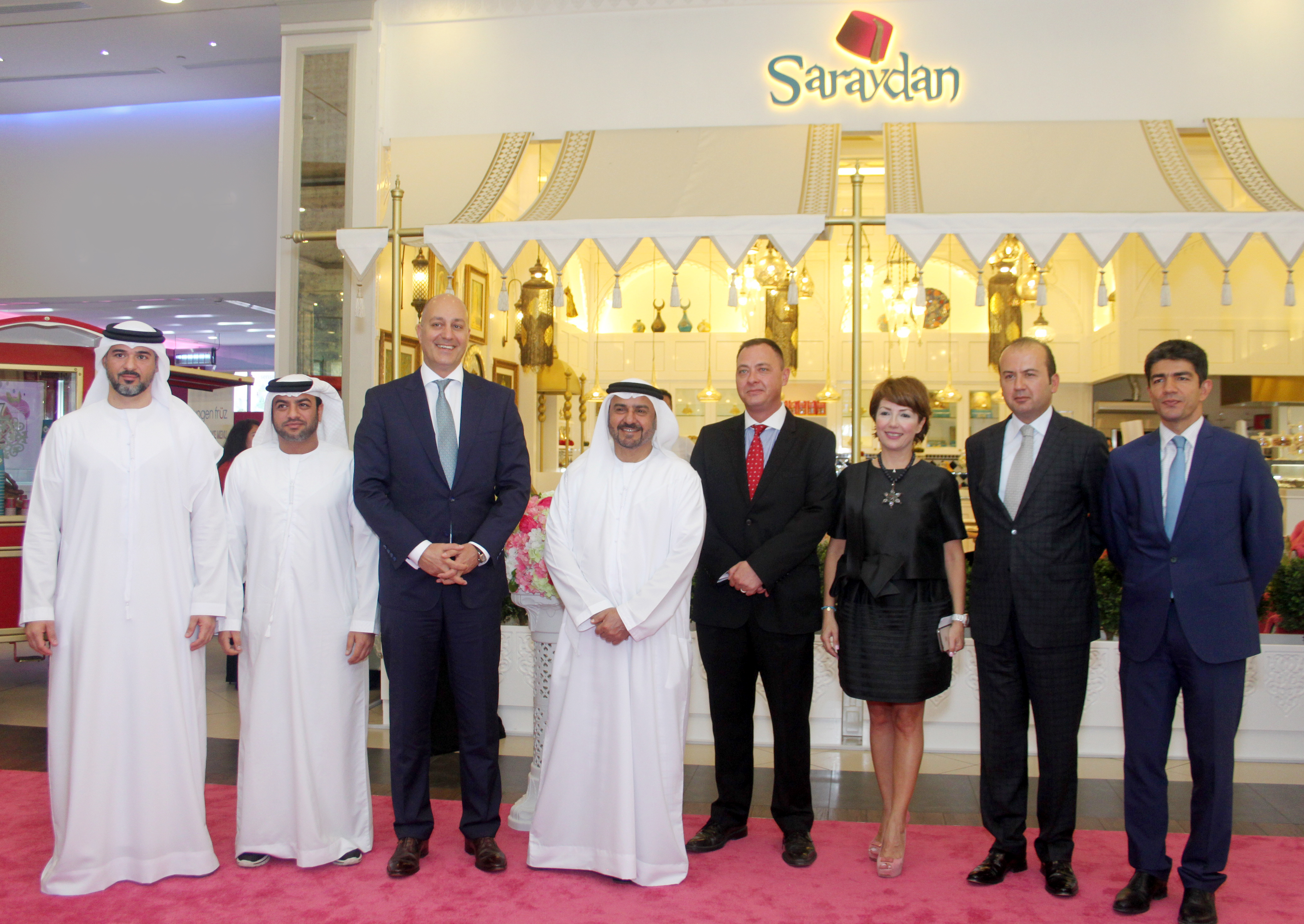 The Saraydan Turkish Café has been launched in Abu Dhabi, with the Turkish Ambassador attending the inauguration ceremony.